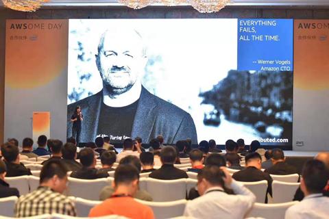 AWSome Day郑州站:简信软件技术总监赵凡受邀做主题分享